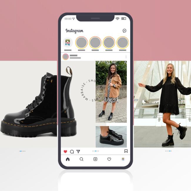Publication carousel Instagram dans le cadre de la campagne